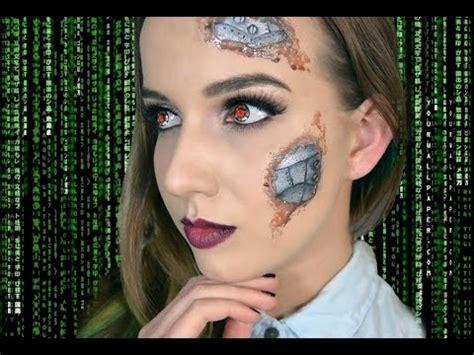 tutorial makeup robot human robot terminator makeup tutorial youtube