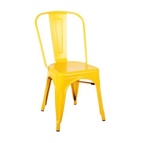 replica tolix chair in matte yellow