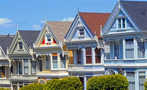 painted houses painted ladies houses 1 san francisco photo by john