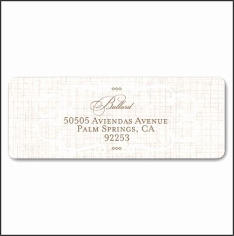 6 Wedding Address Label Template Download Sletemplatess Sletemplatess Lovely Return Address Label Template