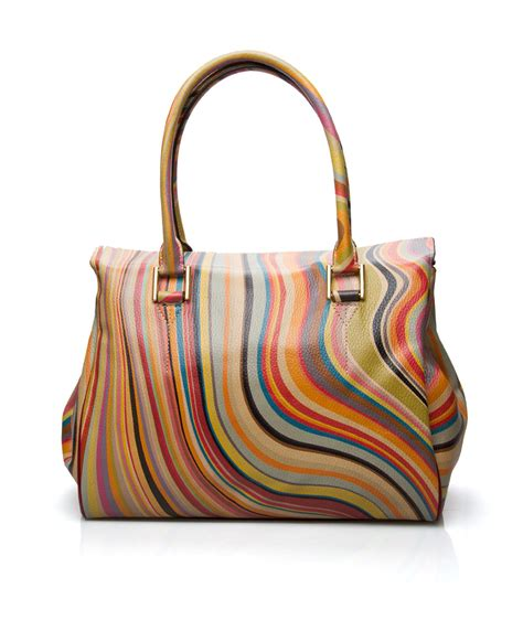 This Paul Smith Bag Looks Better If You Squint by Shop The Look Sporty Blue Perfectly Basics