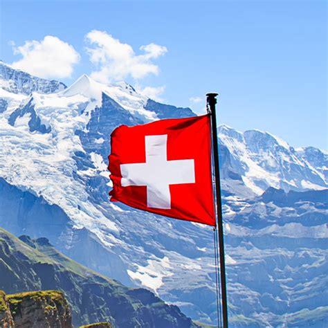 Home Decor Design zwitserland vlag bergen