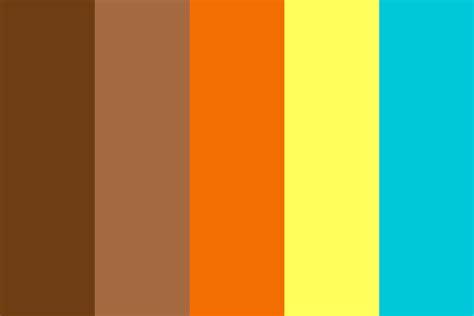 70s color palette 70s ii color palette