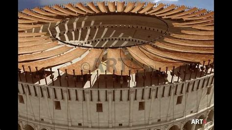 Colosseum Awning by 10 Velarium The Colosseum Revealed Documentary