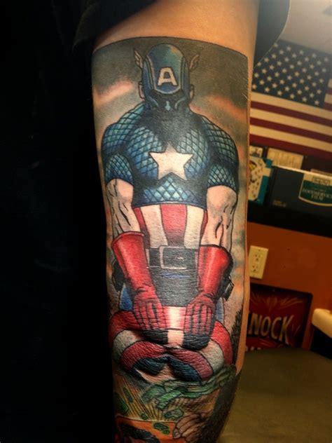 winter soldier tattoo captain america winter soldier marvel comics