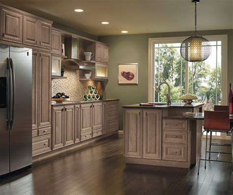 gray kitchen cabinets kemper cabinetry