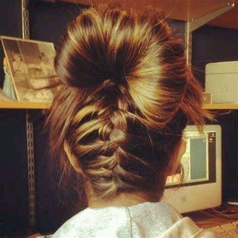 cute hairstyles lazy days cute hairstyle for those lazy days inverted braid with a