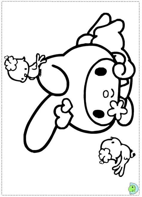 my melody coloring pages coloring pages