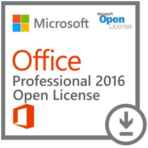 Office Volume License Office 2016 Professional Plus Open License Pricefalls