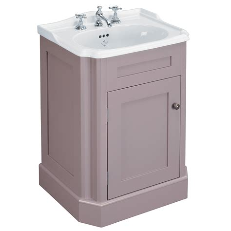 Wide Bathroom Cabinet Silverdale Balasani 600mm Wide Vanity Cabinet Plum Grey
