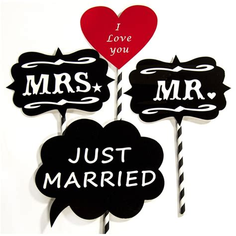 Studio Lighting Kits Just Married Photo Booth Props Backdrop Express