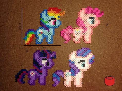 bead my my pony perler bead crafts