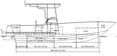 center console boat plans ccsf25 5 center console deep v woodenboat magazine