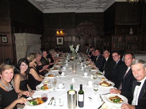 black dinner and a merry olde time was had by all the island news
