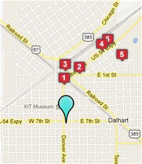 map of dalhart texas dalhart texas hotels motels see all discounts