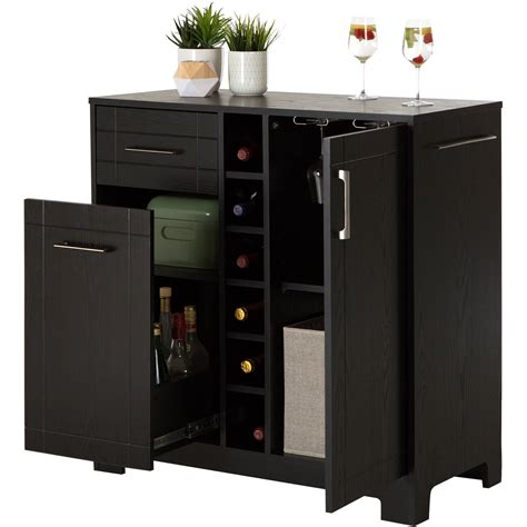 Bar Cabinet Furniture by Bars Bar Cabinets Walmart