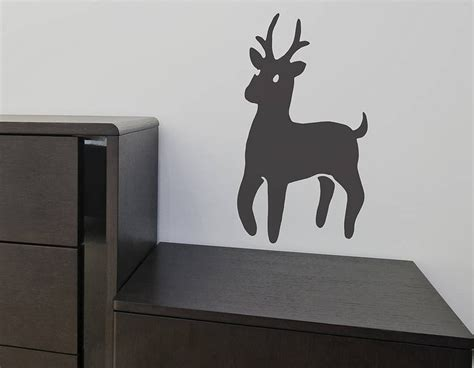 deer wall sticker deer family wall sticker set contemporary wall stickers