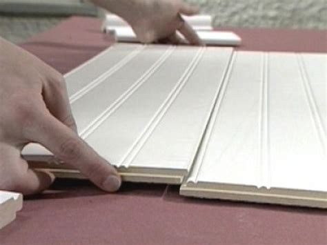 how to install bead board how to install beadboard and trim how tos diy