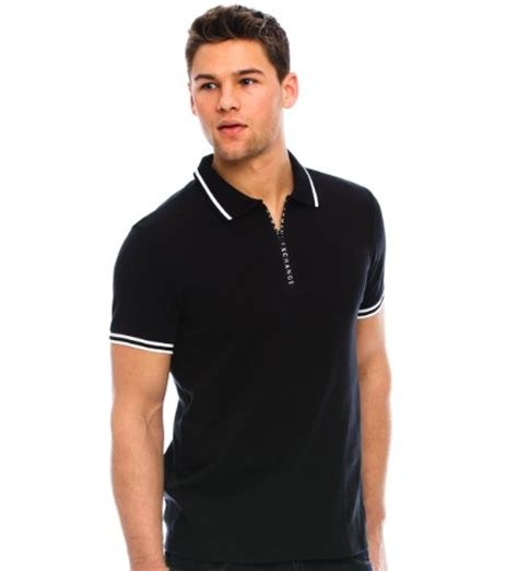 Harga Hoodie Zipper Polos by Armani Exchange Zip Polo 58 00 Dashing