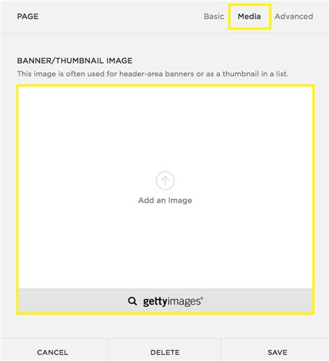 Adding A Banner Image Squarespace Help Basil Template Squarespace