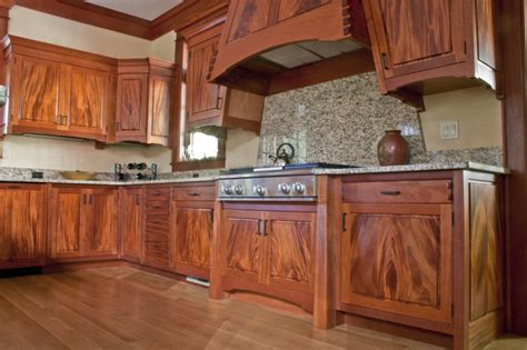 Kitchen Cabinets Mahogany Mahogany Kitchen Eclectic Kitchen By Corlis Design Construction Inc