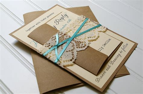 How To Make Handmade Invitations - custom make your own wedding invitations free