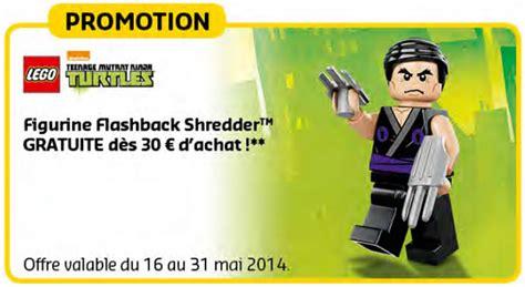 Brick Lego Lego 5002127 Flashback Shredder en mai sur le lego shop flashback shredder hoth bricks