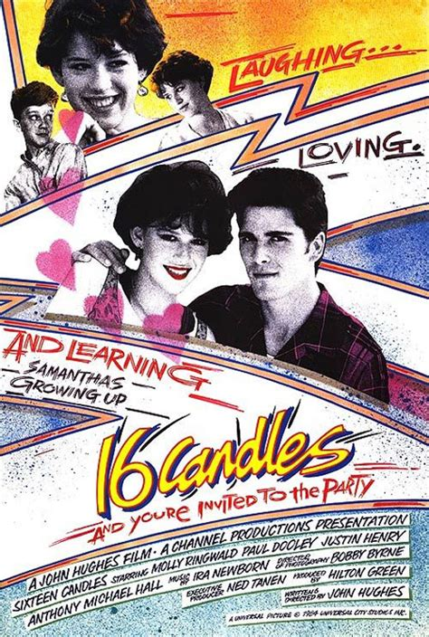 Sixteen Candles 1984 Full Movie Sixteen Candles 1984 Poster 1 Trailer Addict
