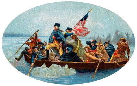 george washington on boat paycom blog 5 leadership lessons from crossing the delaware