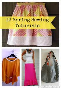 Cute sandals spring rocks and so do these simple sewing patterns