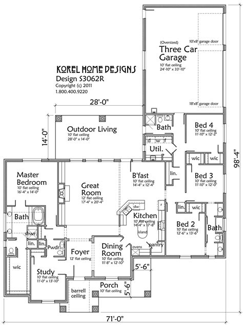 House Plans By Korel Home Designs A Interior Design Korel House Plans