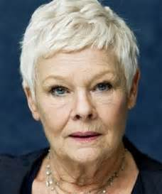 judi dench hairstyle front and back of kapsels 50 plussers