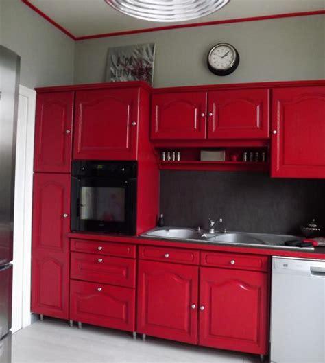 Supérieur Idee Decoration Salle De Bain #7: photo-decoration-cuisine-rouge-rustique-3.jpg