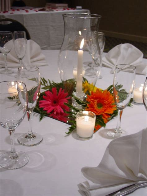 Hurricane Vase Centerpiece by Hurricane L Centerpieces For Weddings Images