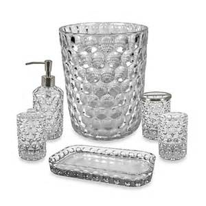 Clear Glass Bathroom Accessories Glass Bathroom Accessories In Clear Bed Bath Beyond