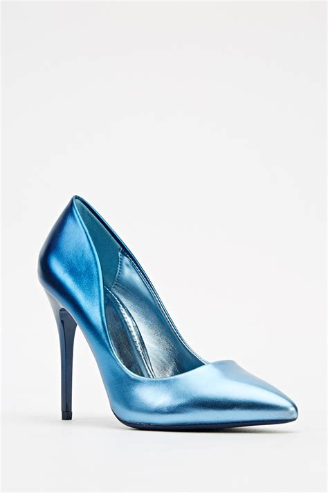 shoes high heels for high heel metallic court shoes just 163 5