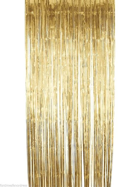 gold metallic curtains gold metallic shimmer curtain backdrop tassel garland