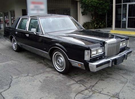 1987 lincoln town car rental epicturecars