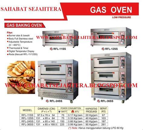 Oven Gas Api Atas Dan Bawah sahabatsejahtera gas baking oven gas deck oven mesin