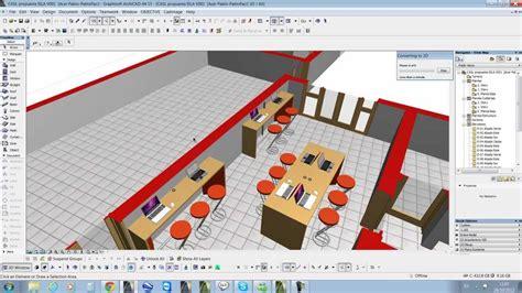 planta 3d crear documento 3d planta 3d en archicad