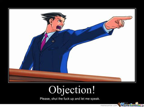 Objection Meme - objection by 21world meme center