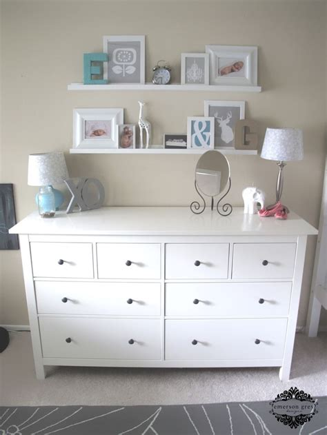 shelves changing table baby nursery