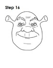 draw shrek