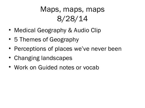 themes of geography perception ch01 introduction to human geography