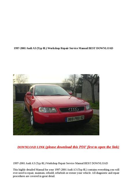 what is the best auto repair manual 1997 volkswagen rio regenerative braking 1997 2001 audi a3 typ 8l workshop repair service manual best download by buhbu issuu
