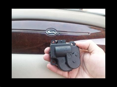 chevy blend door actuator replacement   impala
