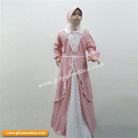 Gamis Anak Ukuran 8 baju muslim anak perempuan koleksi 8 madina griya