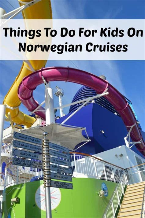 norwegian cruise kids things to do for kids on a norwegian cruise zena s suitcase
