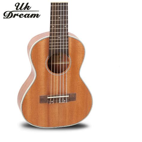 Gitar Mini Classic 6 Strings Ukulele Gitar Kecil 6 Senar aliexpress buy 28 inch mini acoustic guitar 6