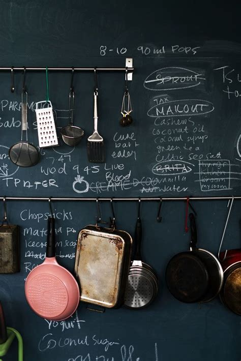 chalkboard kitchen wall ideas 35 creative chalkboard ideas for kitchen d 233 cor digsdigs
